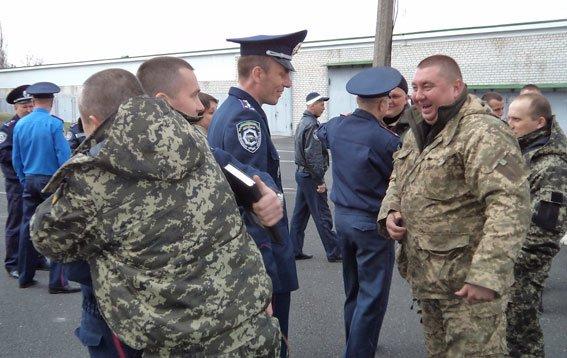 Полтавські даївці повернулися з зони АТО (фото) - фото 1