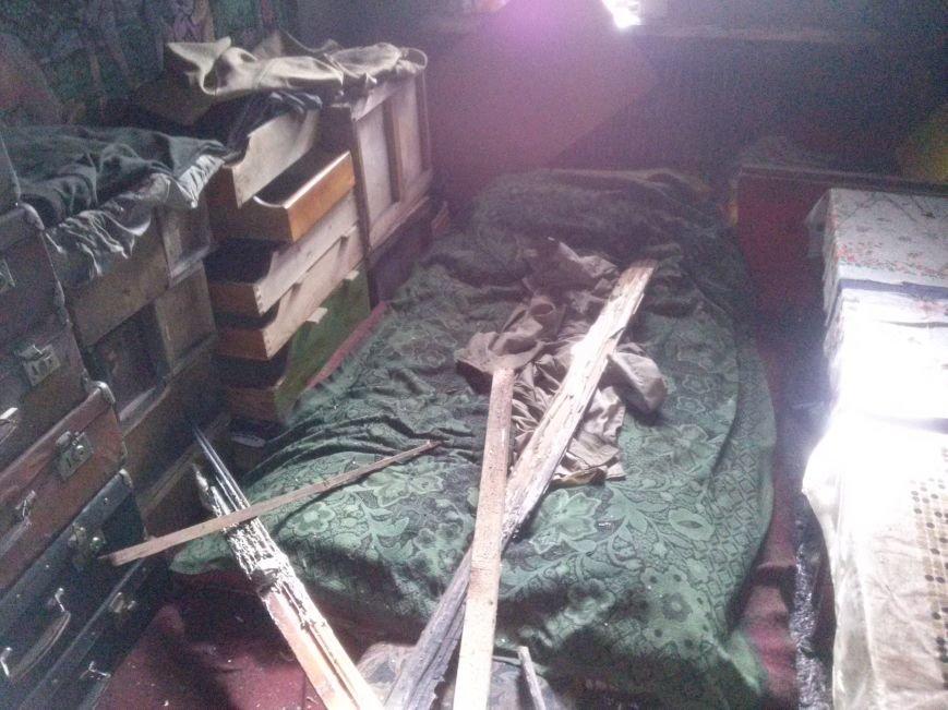 В Днепродзержинске из-за пожара эвакуировали жильцов дома (фото) - фото 2