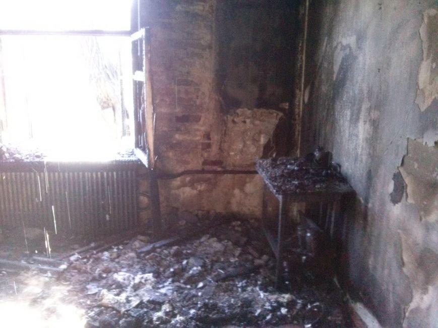 В Днепродзержинске из-за пожара эвакуировали жильцов дома (фото) - фото 3