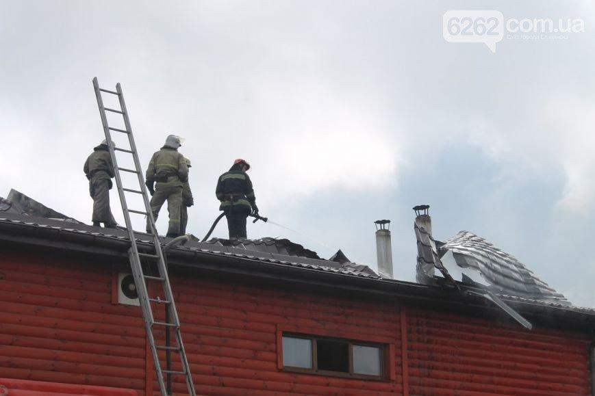 В Славянске горели «Андреевские бани». ФОТО (фото) - фото 2