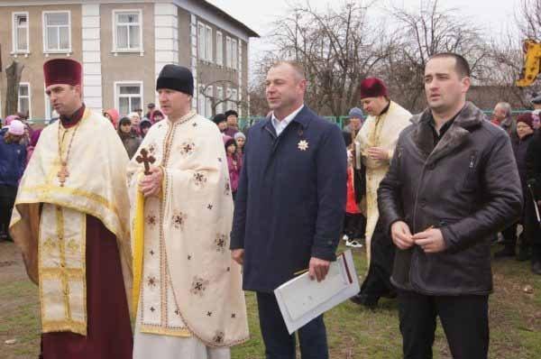 В селе на Николаевщине освятили будущую церковь (ФОТО) (фото) - фото 1