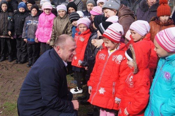 В селе на Николаевщине освятили будущую церковь (ФОТО) (фото) - фото 3