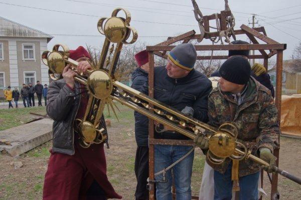 В селе на Николаевщине освятили будущую церковь (ФОТО) (фото) - фото 5
