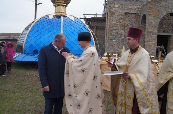 В селе на Николаевщине освятили будущую церковь (ФОТО) (фото) - фото 4