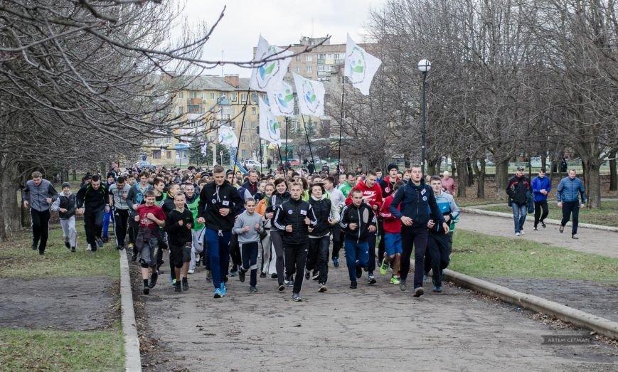 В Краматорске состоялся пробег в поддержку мира, фото-1