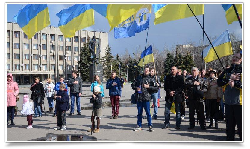 В Славянске прошло первое апрельское Вече (фото) - фото 1