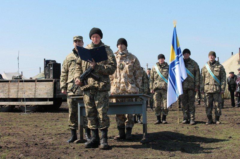 Более 200 новобранцев приняли присягу на полигоне в Николаеве (ФОТО) (фото) - фото 4