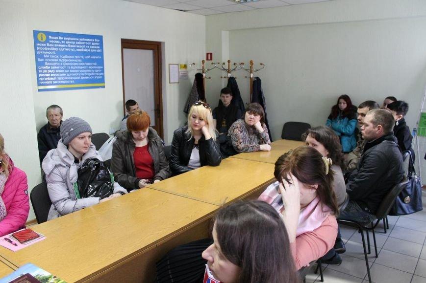 Добропольский центр занятости провёл день открытых дверей для переселенцев, фото-2