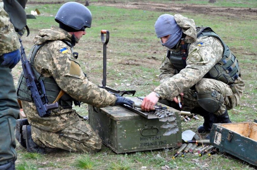 Новоиспеченные бойцы проходят боевое слаживание под руководством николаевских десантников (ФОТО) (фото) - фото 5