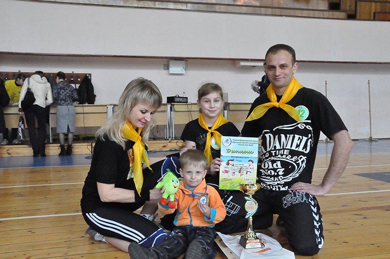 В Днепродзержинске завершились соревнования «Мама, папа, я – спортивная семья», фото-9