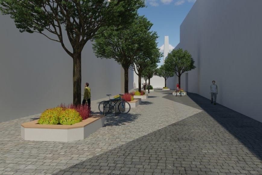 Як виглядатиме вулиця Леся Курбаса після того, як звідтам приберуть усі автівки (ФОТОРЕПОРТАЖ) (фото) - фото 6