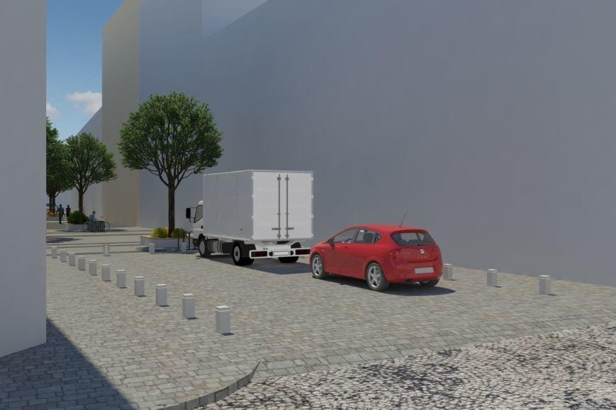 Як виглядатиме вулиця Леся Курбаса після того, як звідтам приберуть усі автівки (ФОТОРЕПОРТАЖ) (фото) - фото 8