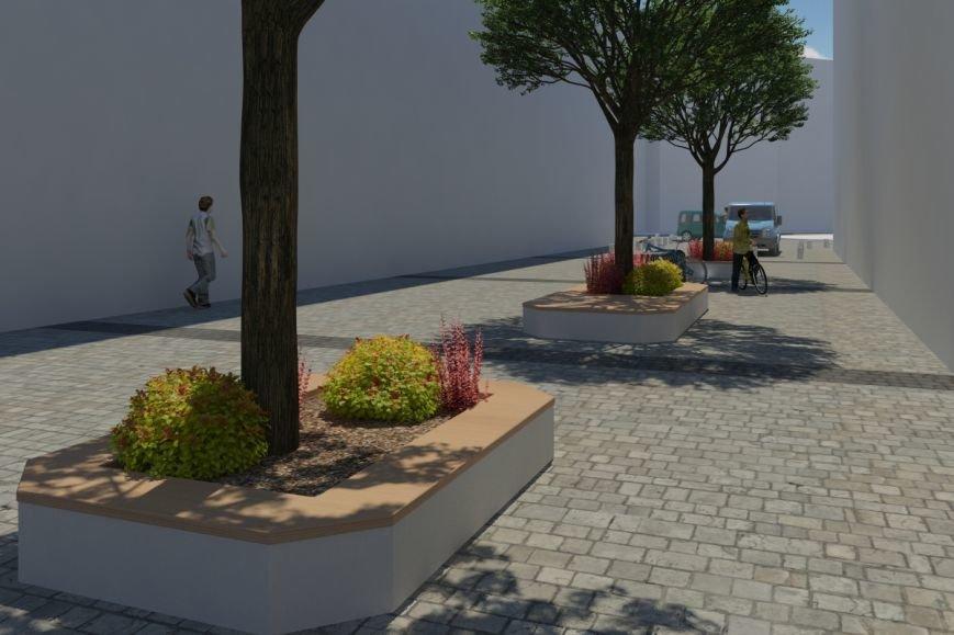 Як виглядатиме вулиця Леся Курбаса після того, як звідтам приберуть усі автівки (ФОТОРЕПОРТАЖ) (фото) - фото 3