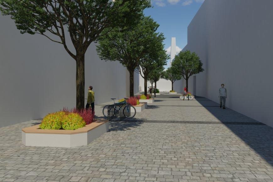 Як виглядатиме вулиця Леся Курбаса після того, як звідтам приберуть усі автівки (ФОТОРЕПОРТАЖ) (фото) - фото 1