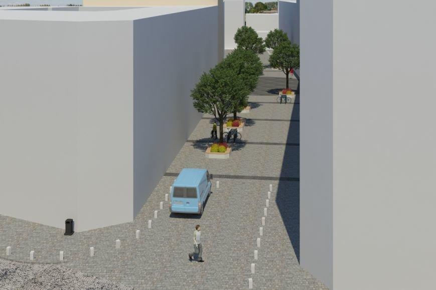 Як виглядатиме вулиця Леся Курбаса після того, як звідтам приберуть усі автівки (ФОТОРЕПОРТАЖ) (фото) - фото 2