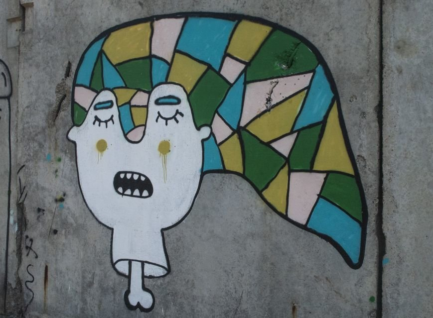 На окраине Запорожья найдена тренировочная база граффити (ФОТОРЕПОРТАЖ), фото-8