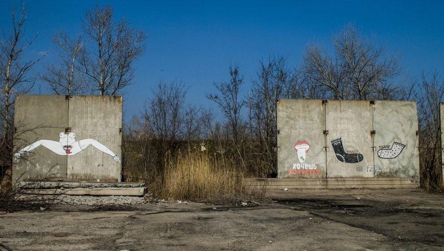 На окраине Запорожья найдена тренировочная база граффити (ФОТОРЕПОРТАЖ), фото-26