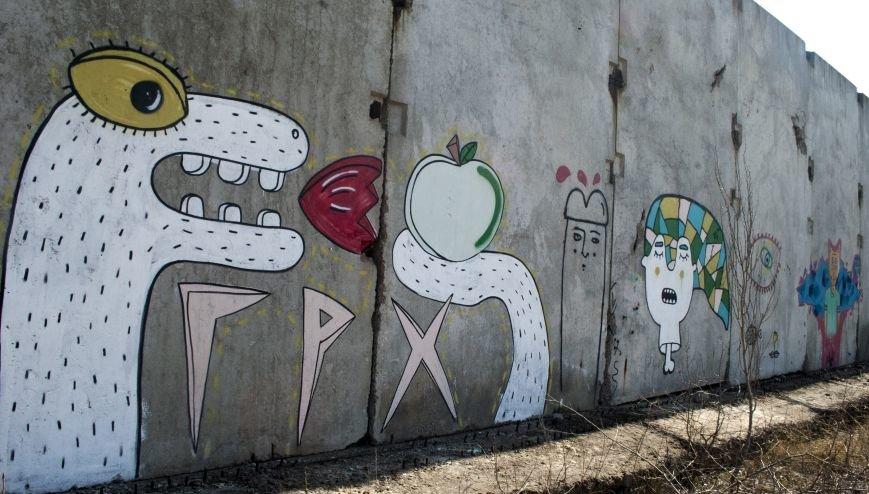 На окраине Запорожья найдена тренировочная база граффити (ФОТОРЕПОРТАЖ), фото-9