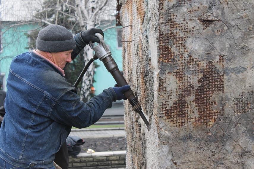 Постамент снесен: площадь г. Доброполья ожидает реализации нового архитектурного проекта (+ ВИДЕО), фото-2