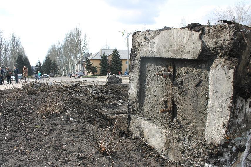 Постамент снесен: площадь г. Доброполья ожидает реализации нового архитектурного проекта (+ ВИДЕО), фото-8