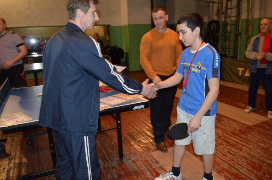 В Енакиево подведены итоги городского турнира по настольному теннису памяти известного металлурга, фото-2
