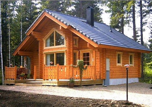 построить деревянный дом из бруса