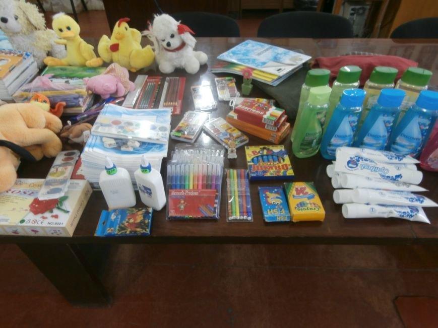 Дети Херсонщины собрали помощь детям из зоны АТО (фото) - фото 2