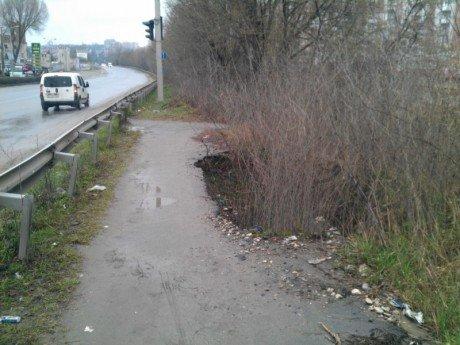 У Тернополі реклама псує дороги (фото) (фото) - фото 1