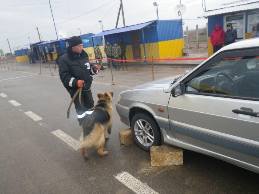 На границе Херсонщины задержали машину с оружием и наркотиками (фото) (фото) - фото 2