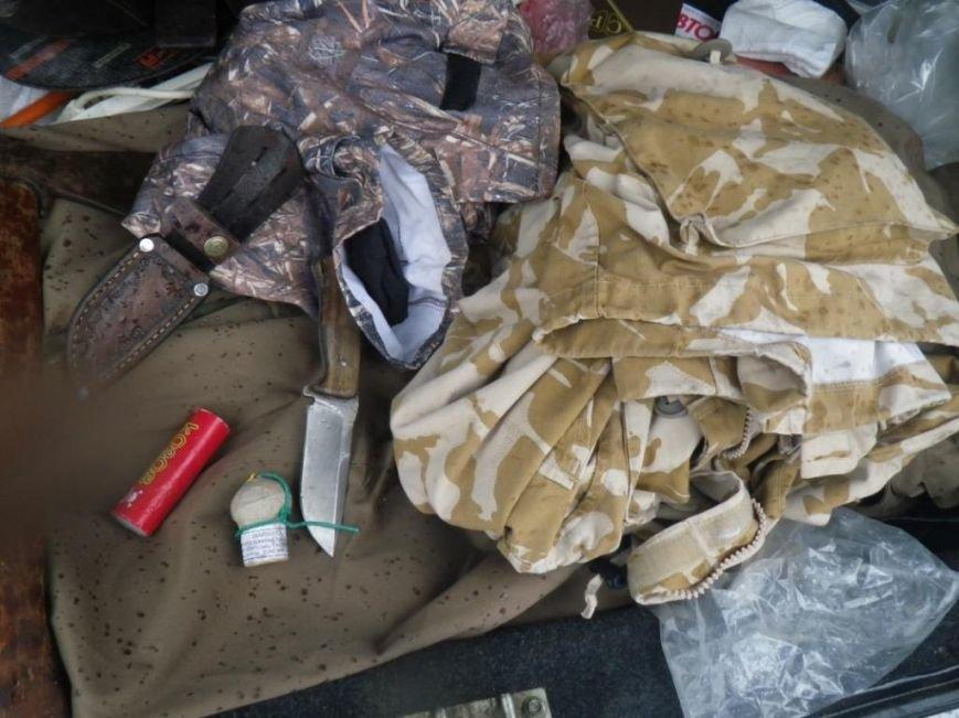 На границе Херсонщины задержали машину с оружием и наркотиками (фото) (фото) - фото 6