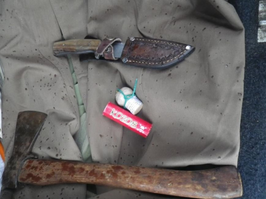 На границе Херсонщины задержали машину с оружием и наркотиками (фото) (фото) - фото 5