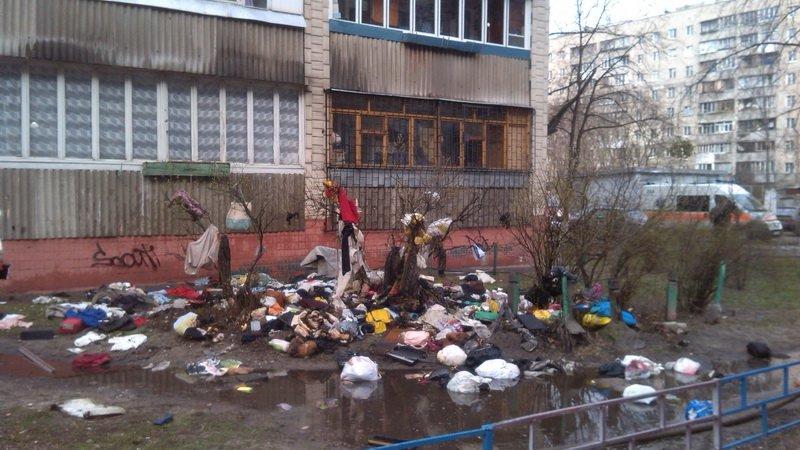 В Киеве во время пожара погибла пенсионерка (ФОТО) (фото) - фото 1