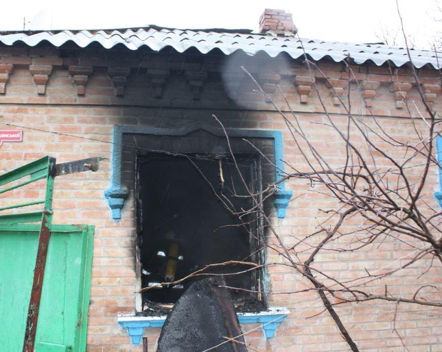 Кіровоград: через порушення правил пожежної безпеки при влаштуванні пічного опалення виникла пожежа, фото-1