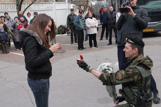 Бойцы батальона «Чернигов» вернулись из зоны АТО (фото) - фото 1