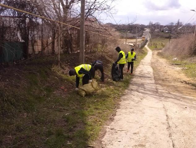 «Генеральная уборка» в Малодолинском. Как это было? (+фото) (фото) - фото 3