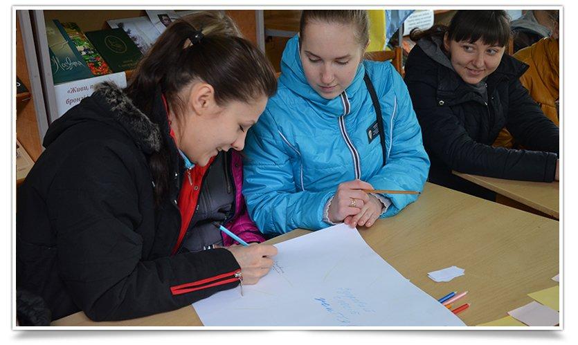 В Славянске к Дню здоровья прошёл библио-тренинг (фото) - фото 3