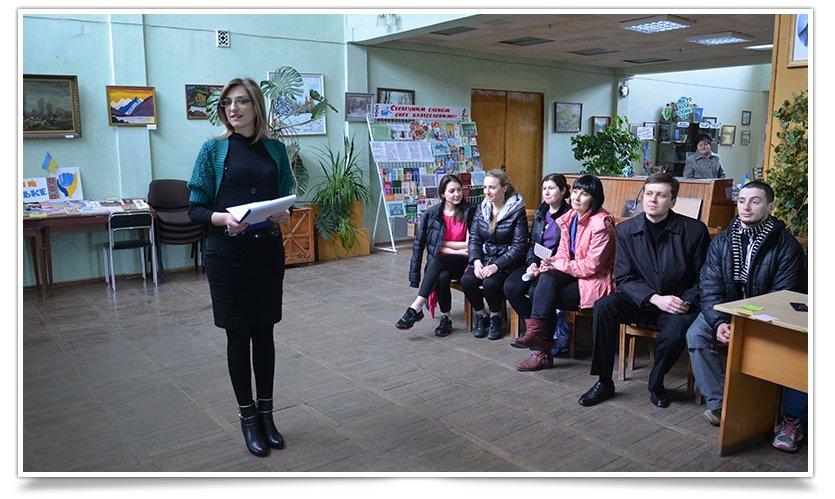 В Славянске к Дню здоровья прошёл библио-тренинг (фото) - фото 1