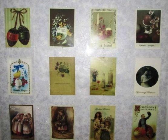 В музее космонавта Берегового в преддверии празднования Пасхи открылась мини-выставка репродукций старинных пасхальных открыток, фото-3
