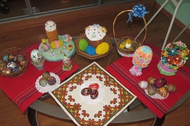 В музее космонавта Берегового в преддверии празднования Пасхи открылась мини-выставка репродукций старинных пасхальных открыток, фото-6
