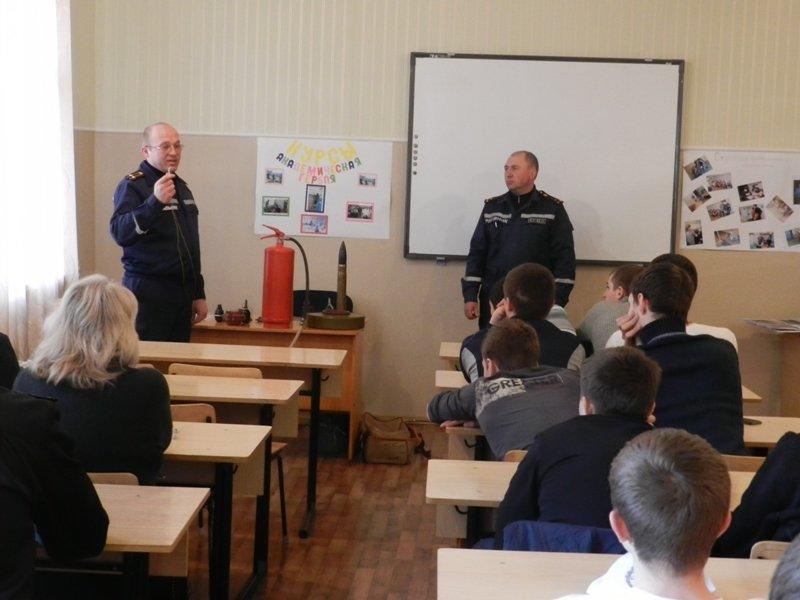 Херсонским спортсменам рассказали о пожарной безопасности (фото) (фото) - фото 6