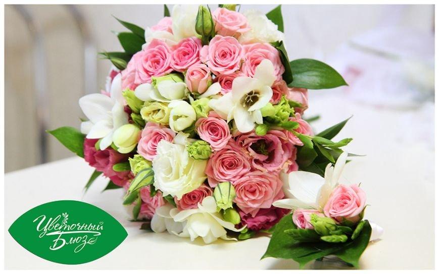 Яркие и романтические букеты с доставкой по Мариуполю (фото) - фото 2
