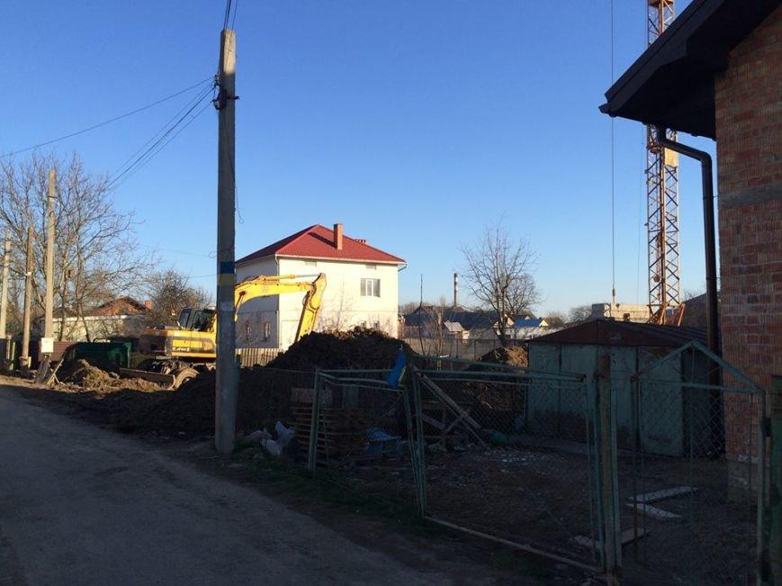 Чергова сумнівна забудова тихої вулиці в Івано-Франківську (ФОТО), фото-2