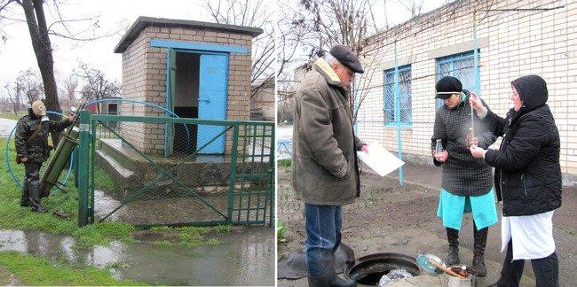 Степановка и Старый Карантинный остров: водопроводные сети продезинфицированы! (фото) - фото 1