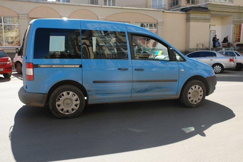 Внаслідок ДТП у центрі міста, автомобіль «загубив» бампер (ФОТО) (фото) - фото 2