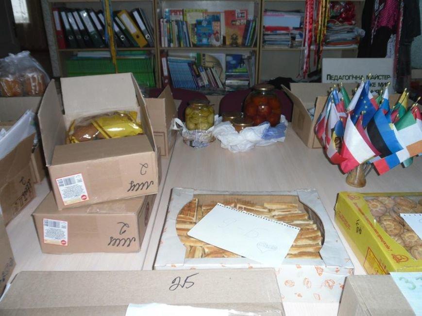 Учащиеся днепродзержинского УВО-лицея НИТ собрали пасхальные подарки для бойцов АТО, фото-2