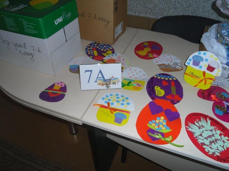 Учащиеся днепродзержинского УВО-лицея НИТ собрали пасхальные подарки для бойцов АТО, фото-6