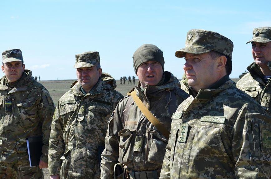 Министр обороны Украины постетил  учебный полигон Вооруженных Сил Украины «Широкий лан» на Николаевщине (ФОТО) (фото) - фото 1