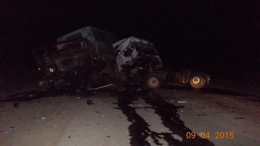 На трассе на смерть в ДТП разбились двое человек (фото) - фото 1