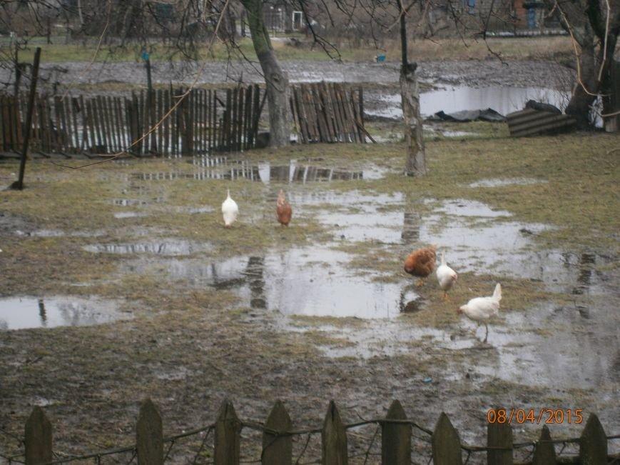 В Кривом Роге после трехденвных ливней целый поселок «ушел под воду» (ФОТО) (фото) - фото 1