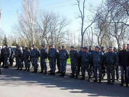 Милиция наградила частную охранную фирму (фото) - фото 1